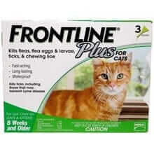 frontline plus cat 3 doses spot on