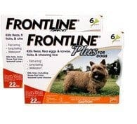 Frontline Plus FOR SMALL DOGS 12 doses spot on