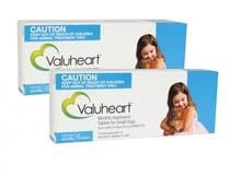 VALUHEART MONTHLY HEARTWORM TABLETS FOR SMALL DOGS UP TO 22 LBS - BLUE 12 PACK