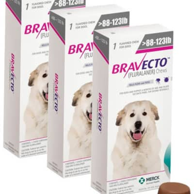 Bravecto for xl dogs